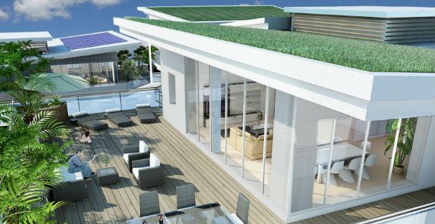 Casa sostenibile vetralla for Abitazioni ecosostenibili