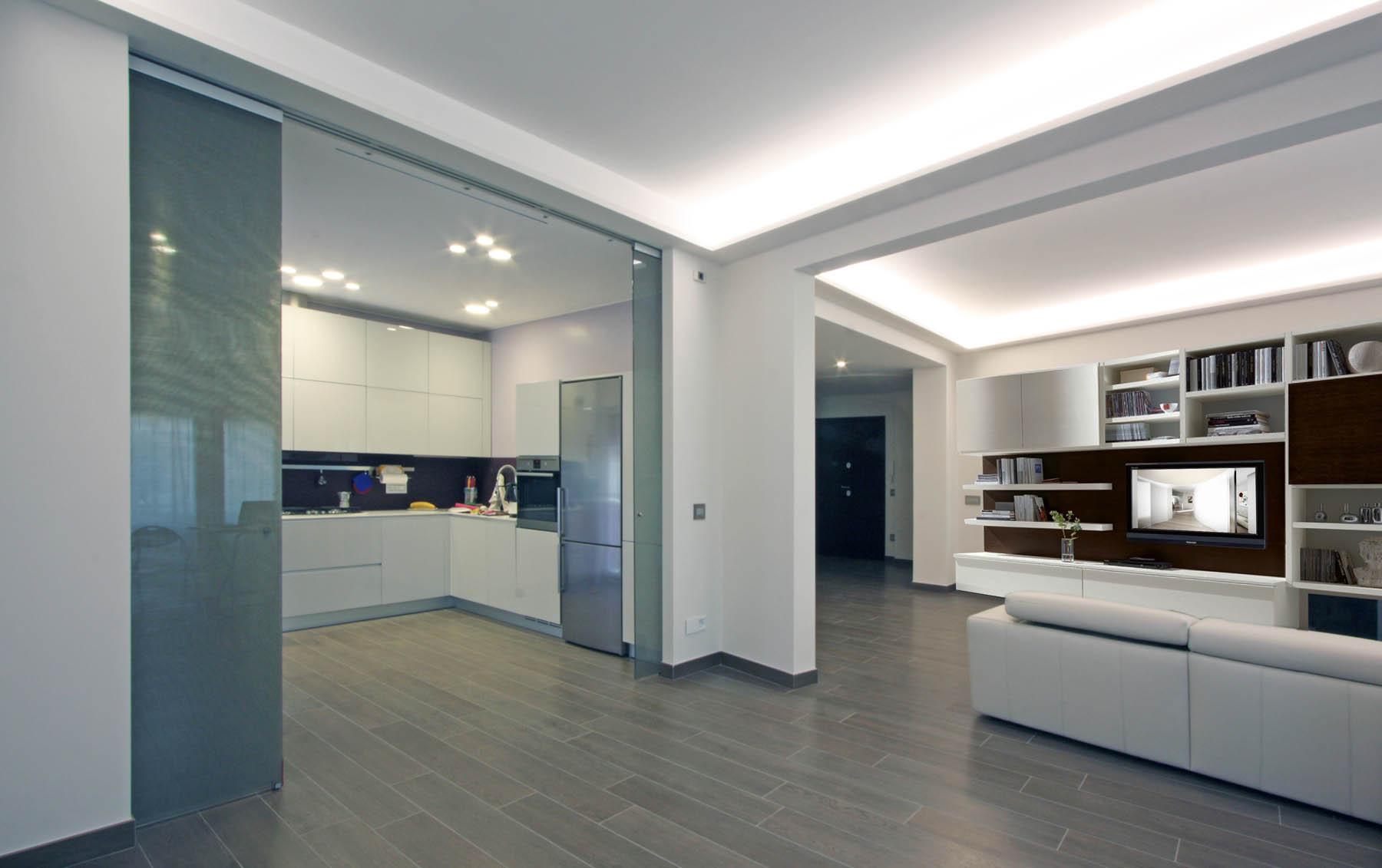 Progettazione realizzazione interni impresa costruzioni for Design moderno interni