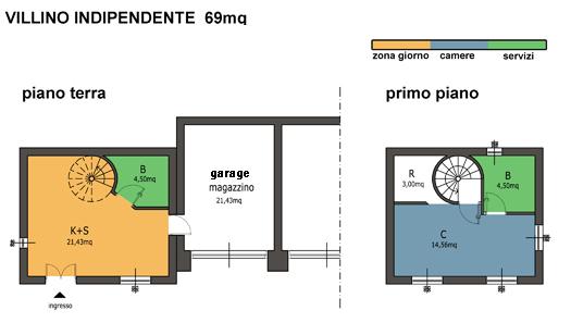 casa indipendente vetralla distribuzione interna